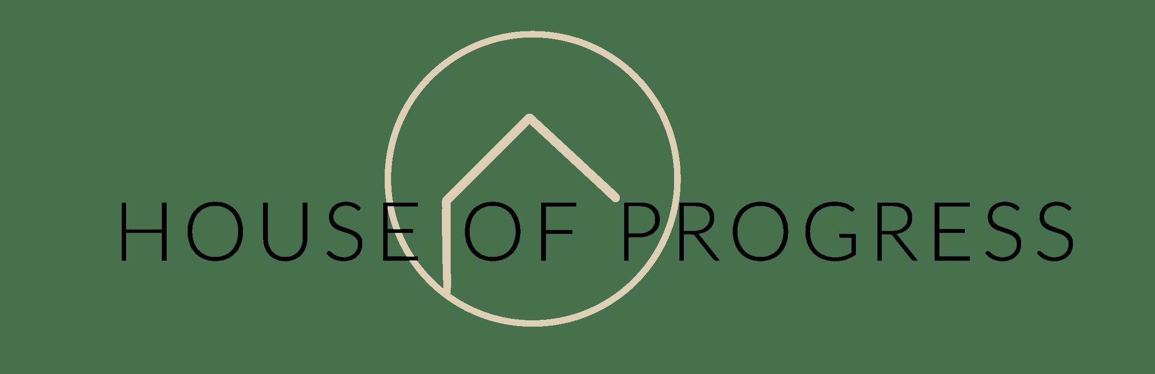 logo house of progress